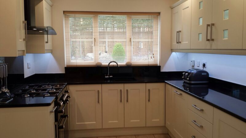 Recently completed fitted bedrooms fitted kitchens and for Fitted kitchens uk